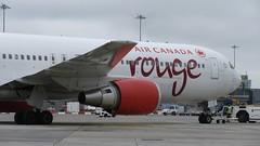 C-GDUZ (Dub ramp) Tags: aircanada aircanadarouge rouge boeing767 b767 b767300 b763 eidw dub dublinairport cgduz