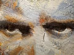Eyes in a work of art. (Rob Swystun) Tags: winnipeg manitoba canada winnipegartgallery wag eyes painting