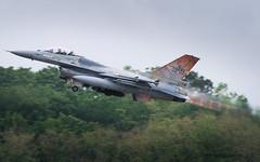 NTM19 | Belgian Air Force 'Rusty Tiger' General Dynamics F-16A | FA-116 (Timothée Savouré) Tags: fa116 belgian air force component general dynamics lockheed martin f16 f16a fighting falcon nato tiger meet 2019 afterburner takeoff montdemarsan