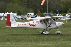 G-CBGP (IndiaEcho) Tags: gcbgp ikarus c42 eghp popham airport aifield light general civil aircraft aeroplane aviation basingstoke hampshire england caon eos 1000d microlight fly in rally 2019