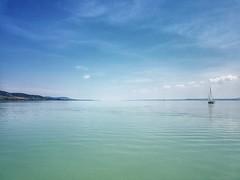 BALATON (petyhh) Tags: hdr balaton seascape boat clouds magyar magyarország hungary lake