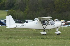 G-CECL (IndiaEcho) Tags: gcecl ikarus c42 eghp popham airport aifield light general civil aircraft aeroplane aviation basingstoke hampshire england caon eos 1000d microlight fly in rally 2019