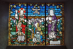 Stained Glass (Howie Mudge LRPS BPE1*) Tags: window stainedglasswindow colours bright religion religious stcadfanschurch tywyn gwynedd wales cymru analog analogphotography 35mmfilmphotography nikonf80 kodakportra160 film filmphotography filmisalive filmisnotdead filmrevival ishootfilm believeinfilm staybrokeshootfilm buyfilmnotmegapixels