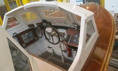 Fast Motor Boat (FMB) 43957 (andreboeni) Tags: fast motor boat fmb 43957 launch hmsdiadem arkroyal royalnavy portsmouth historic dockyard bridge cockpit admiral barge admirals