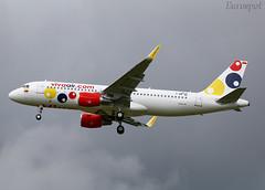 F-WWDQ Airbus A320 Viva Air (@Eurospot) Tags: fwwdq hk5320 9010 airbus a320 lfbo toulouse blagnac vivaair