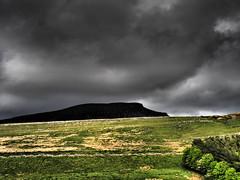 Peny Ghent Brooding Skies (oneofmanybills) Tags: penyghent three peaks clouds skies stormy yorkshire dales contrast