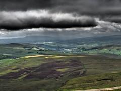 Peny Ghent View 1 (oneofmanybills) Tags: penyghent three peaks yorkshire view skies clouds dark