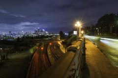 Downtown LA (3dRabbit) Tags: night city los angeles la sungjinahn long exposure