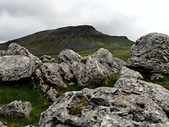 Peny Ghent 1 (oneofmanybills) Tags: penyghent limestone yorkshire dales three peaks cloudy