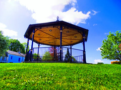 BAND STAND IN SCARVA PARK (Monkiiiey Henry Clark) Tags: band stand in scarva park