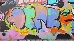 Tunnel de Rouen - May 2019 (Coastal Elite) Tags: graffiti tunnelrouen montréal tunnelderouen graffititunnel hochelaga hochelagamaisonneuve murderouen murlégal legalwall tunnel viaduc viaduct underpass overpass bridge trainbridge streetart painted legal wall montreal quebec canada concrete urban street art mur légal murs walls colors color colour colours colorful colourful dripping drip letters pastel teal