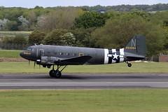 DAKOTA PLACID LASSIE (TF102A) Tags: prestwick prestwickairport aviation aircraft airplane douglas dakota 224064 c47 dc3 usaf usairforce
