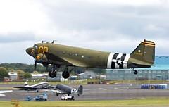 DAKOTA  Spirit of the American west. (TF102A) Tags: prestwick prestwickairport aviation aircraft airplane douglas dakota 348608 c47 dc3 usaf usairforce