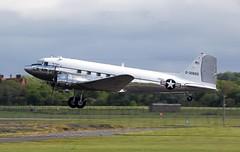 DAKOTA 0-30665 (TF102A) Tags: prestwick prestwickairport aviation aircraft airplane douglas dakota 030665 c47 dc3 usaf usairforce