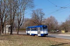 Solo für Zehn (trainspotter64) Tags: strasenbahn streetcar tram tramway tranvia tramvaj tramwaje satiksme rīga čkd tatra t3su lettland latvia