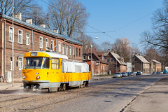 Wasser marsch! (trainspotter64) Tags: strasenbahn streetcar tram tramway tranvia tramvaj tramwaje satiksme rīga čkd tatra t3su lettland latvia sprengwagen