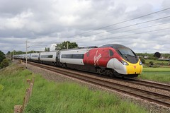 390117 - 1M13. (Andy.Parkinson) Tags: 390117 bluepeter 1m13 redbank newtonlewillows class390 pendolino virgintrainswestcoast vtwc virgintrains