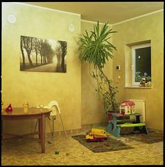Landschaften (Konrad Winkler) Tags: raum palme spielzeug bild fenster bunt longdrinks hasselblad503cx kodakportra160 6x6 mittelformat epsonv800