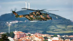 FAP 19607 Agusta-Westland EH-101 Merlin (P.J.V Martins Photography) Tags: 19607 merlin helicopter eh101 chopper propeller turboprop turbine military militares flying flight warbird sar sintra portugal