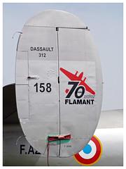 Dassault MD 312 Flamant - 158 - F-AZGE (Aerofossile2012) Tags: fazge meaux esbly meeting airshow flamant dassault avion aircraft aviation amicaledesavionsanciensdalbert