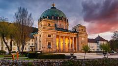 St. Blasien Dome @ Sunset