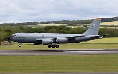 KC135  91450 (TF102A) Tags: prestwick prestwickairport aviation aircraft airplane usaf usairforce kc135 91450