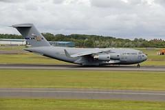 C17  44133 (TF102A) Tags: prestwick prestwickairport aviation aircraft airplane usaf usairforce c17 44133