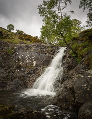 Ashness Gill Falls (Aidan Mincher) Tags: ashnessgill waterfall highseat derwentwater lakedistrict landscape water rocks trees