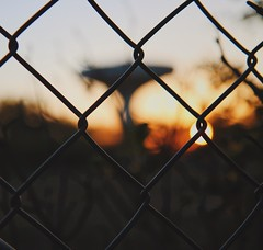 Behind lattice.. (erlingraahede) Tags: sunset lattice denmark holstebro canon vsco light different explore poetic