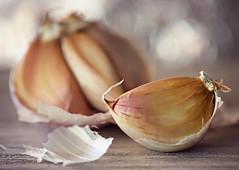 Garlic to avoid the evil eye (Through Serena's Lens) Tags: macromondays superstition dof garlic tabletop bokeh macro canoneos6dmarkii food stilllife macrounlimited