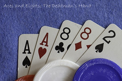 Aces & Eights (Eclectic Jack) Tags: superstition monday macro hmm poker aces eights acesandeights hand mans dead deadmanshand