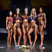 Bikini Novice 4th Allen 2nd Heschuk 1st Alford 3rd Johnson 5th Chartrand