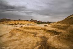 Into the desert (Daniel Meraviglia-C.) Tags: bardenasreales navarra landscapephotography landscape moodysky clouds desert plains hills mountains wideangle naturaleza scenery nature brown