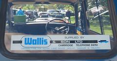 Wallis & Son Ltd, Cambridge dealer sticker (Spottedlaurel) Tags: wallissonltd cambridge morris mini clubman