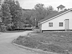 FLSR 465 and the Freedom Bible Church (dtrohdenburg) Tags: frenchlick scenicrailway church