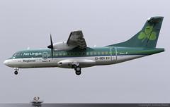 Aer Lingus Regional (Stobart Air) ATR 42-600 EI-GEV @ Isle of Man Airport (EGNS/IOM) (Joshua_Risker) Tags: isle man airport egns iom ronaldsway plane aviation aircraft jet planespotting avgeek aer lingus regional stobart air atr atr42 42 42600 at46 eigev stk