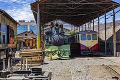 Maestranza Los Andes (Felipe Radrigán) Tags: tren ferrocarril train railroad railway efe losandes transandino chile argentina mendoza schindler automotor dmu adi1015 1015 locomotora vapor kitson meyer z3348 3348 pullman maestranza