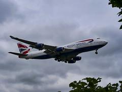 G-CIVX British Airways Boeing 747-436 (alex kerr photography) Tags: britishairways boeing 747400 queenoftheskies landing heathrowairport egll