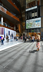 the shops at Hudson Yards (sjnnyny) Tags: shoppers nyc shoppingmall hudsonyards interior stores people atrium stevenj sjnnyny nikond750 nikkorafs1635f4gedvr