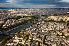 Over Paris (Guillaume Chanson) Tags: paris îledefrance france toureiffel seine vueduciel toit ville paysageurbain canon canoneos5dmarkiii ciel paysage grandpalais lelouvre alexandreiii concorde