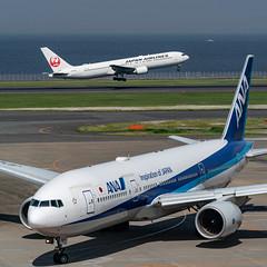 20190526 HND JA742A (dora9092) Tags: 777200 ana 全日空 hnd 羽田空港 tokyointernationalairport boeing777281er allnipponairways hanedaairport 東京国際空港 rjtt