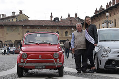raduno auto d'epoca (lorellabianchi) Tags: auto vigevano piazza piazzaducale cars memorial epoca