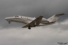 Cessna 525A CitationJet CJ2+ SALZBURG JET AVIATION OE-FPK 525A-0437 Entzheim juillet 2017 (Thibaud.S.) Tags: cessna 525a citationjet cj2 salzburg jet aviation oefpk 525a0437 entzheim juillet 2017