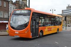 Transdev Rosso Wright StreetLite 603 SN64CSX - Rochdale (dwb transport photos) Tags: transdev rosso wright streetlite bus 603 sn64csx rochdale