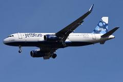 jetBlue Airways - Airbus A320-232 - N827JB - It Takes Blue to Tango - John F. Kennedy International Airport (JFK) - February 19, 2019 880 RT CRP (TVL1970) Tags: nikon nikond7200 d7200 nikongp1 gp1 geotagged nikkor70300mmvr 70300mmvr aviation airplane aircraft airlines airliners johnfkennedyinternationalairport kennedyairport jfkairport jfkinternational jfk kjfk n827jb jetblueairways jetblue ittakesbluetotango airbus airbusindustrie airbusa320 airbusa320200 airbusa320232 a320 a320200 a320232 airbusa320200wl airbusa320232wl a320200wl a320232wl winglets sharklets internationalaeroengines iae iaev2500 v2500 v2527 v2527a5