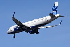 jetBlue Airways - Airbus A320-232 - N827JB - It Takes Blue to Tango - John F. Kennedy International Airport (JFK) - February 19, 2019 889 RT CRP (TVL1970) Tags: nikon nikond7200 d7200 nikongp1 gp1 geotagged nikkor70300mmvr 70300mmvr aviation airplane aircraft airlines airliners johnfkennedyinternationalairport kennedyairport jfkairport jfkinternational jfk kjfk n827jb jetblueairways jetblue ittakesbluetotango airbus airbusindustrie airbusa320 airbusa320200 airbusa320232 a320 a320200 a320232 airbusa320200wl airbusa320232wl a320200wl a320232wl winglets sharklets internationalaeroengines iae iaev2500 v2500 v2527 v2527a5