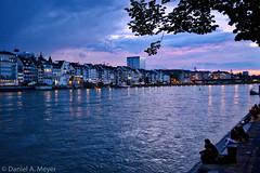 Basel, Rhein (Anselm11) Tags: basel rhein uferpromenade rheinweg