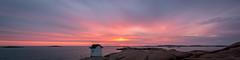 Lysekil's lighthouse panorama (englishgolfer) Tags: sunset sweden west coast västkusten bohuslän lysekil lighthouse fyr panorama nikon d7500 tamron 1750mm