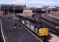 37708 47518 Perth 080990 img165-3290H-a (Tony.Woof) Tags: 37708 47518 perth clansman
