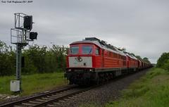 232 241 Neundorf 27.05.2019 (Falk Hoffmann) Tags: diesellok eisenbahn bahnhof güterzug lichtsignal dbcargo dbschenker ludmilla br132 br232